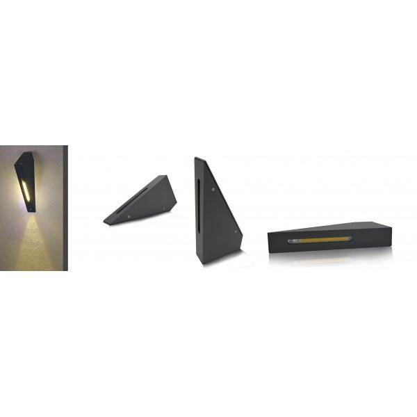 applique murale led cob ext rieure 3w ip54 torche. Black Bedroom Furniture Sets. Home Design Ideas