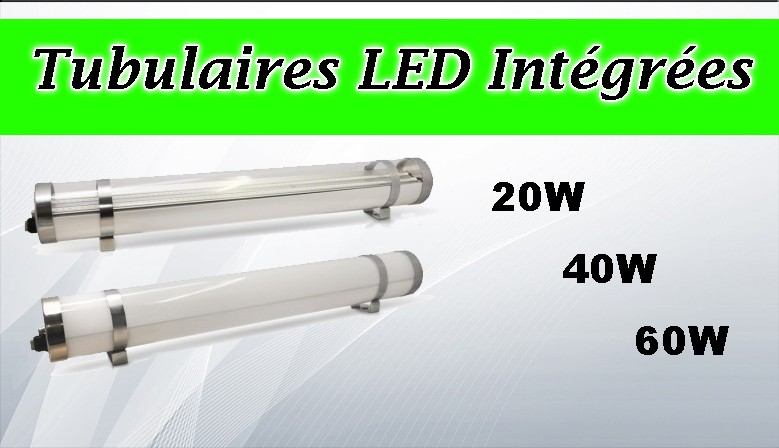 Tubulaires LED